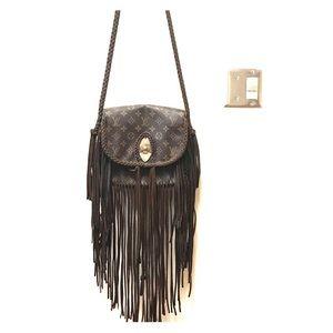 5f0a3560e Louis Vuitton · Authentic LV St. Cloud GM Custom Leather & Fringe